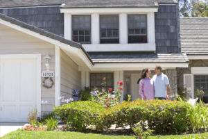 Family With Homeowners Insurance