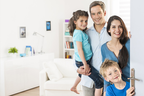 Family With Renters Insurance